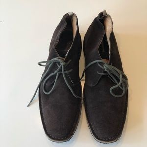 Coach brown suede chukka boots size 12M